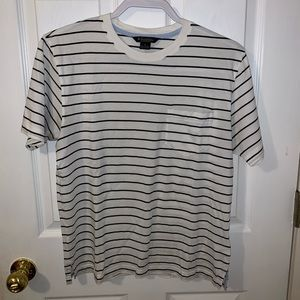 Brooks Brothers Striped Pocket Tee